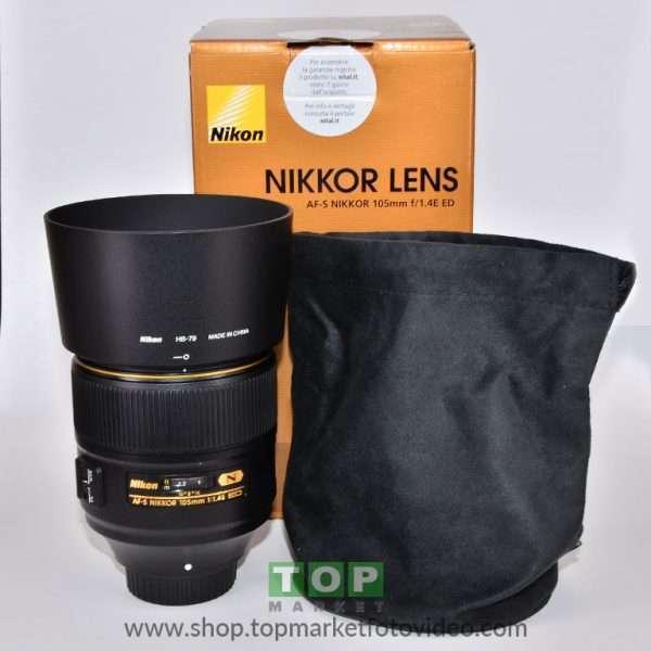 Nikon Obiettivo AF-S 105mm f/1,4 E