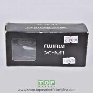 Fujifilm X-M1 Custodia in cuoio + Cinghia